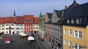 Weimar marketplace, Copyright: DW / J. Chase