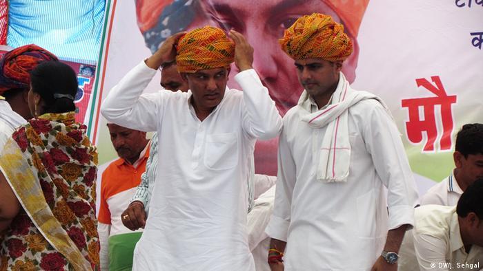 Wahlen Indien 2014 (DW/J. Sehgal)