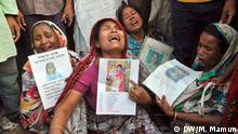 Bangladesch Textilfabrik Jahrestag Rana