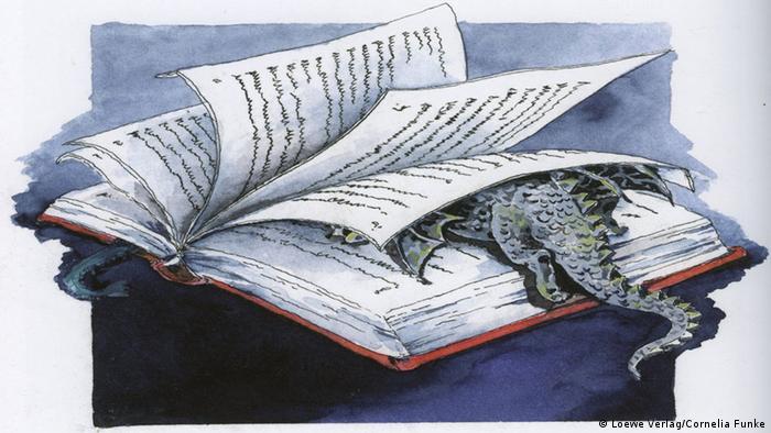 Cover Mondscheindrache von Cornelia Funke - © Loewe Verlag / Cornelia Funke