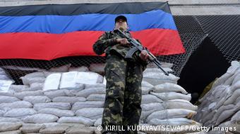 Ukraine Unruhen in Slowjansk 24. April
