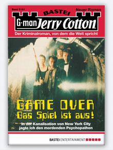 Cover Jerry Cotton Game Over 2161