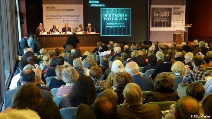 Konferenz zur Nelkenrevolution in Portugal Lopo do Nascimento