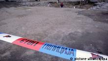 Serben öffnen mögliches Massengrab von Albanern