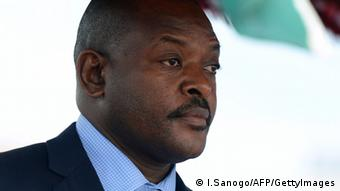 Burundi's president Pierre Nkurunziza. Photo: ISSOUF SANOGO/AFP/Getty Images