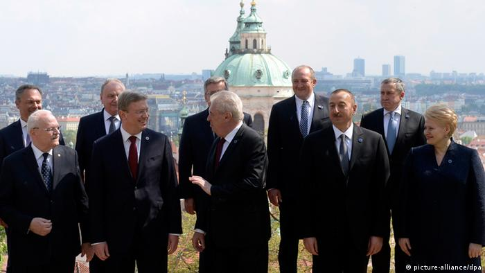 Саммит стран Восточного партнерства в Праге