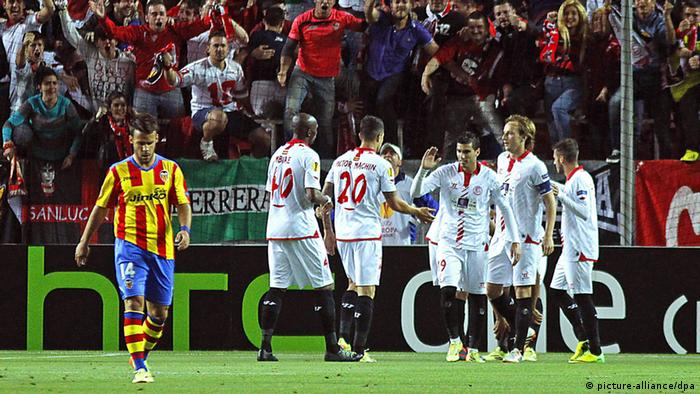 Europa League Sevilla gegen Valencia
