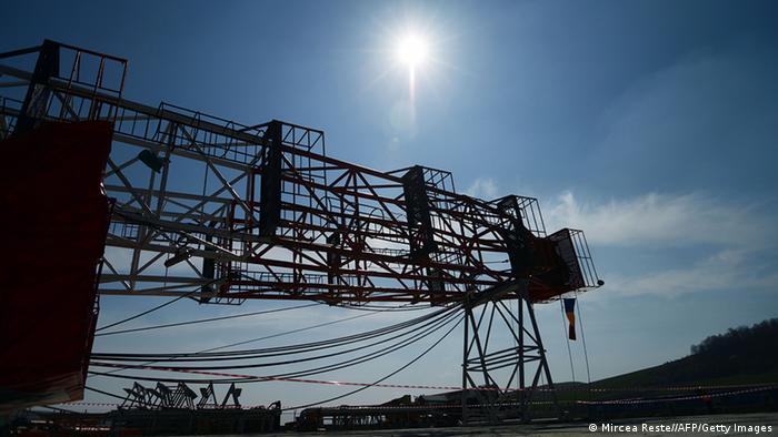 Rumänien Energie Fracking Anlage in Pungesti (Mircea Reste//AFP/Getty Images)