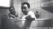 ***Achtung: Nur zur abgesprochenen Berichterstattung verwenden!*** Sigmar Polke and Gerhard Richter - In the bathtub 1966. Image courtesy Gerhard Richter Archive 2014