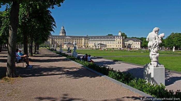 Дворец в Карльсруэ