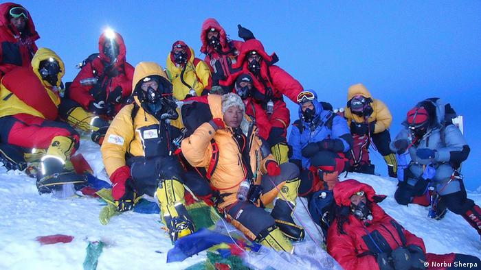 Norbu Sherpa Mount Everest Expedition