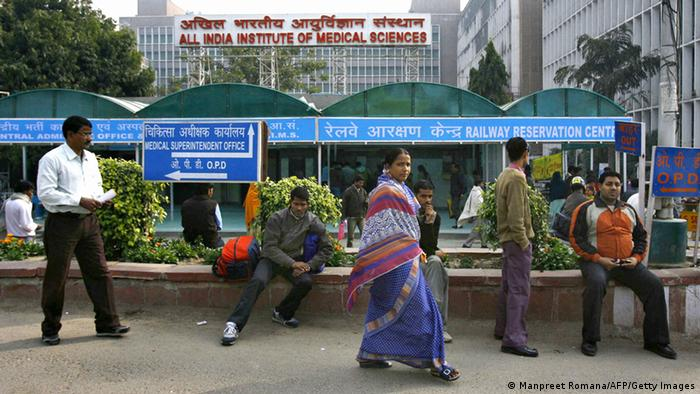 All India Institute of Medical Sciences AIIMS in New Delhi (Manpreet Romana/AFP/Getty Images)