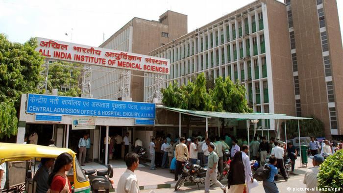 All India Institute of Medical Sciences AIIMS in New Delhi (picture-alliance/dpa)