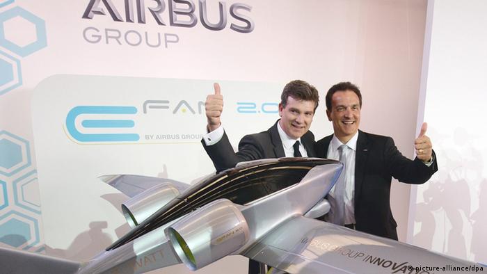 Airbus Elektroflugzeug (picture-alliance/dpa)