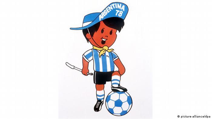 Bildergalerie WM-Maskottchen Gauchito 1978