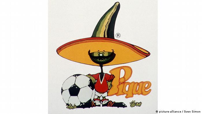 Bildergalerie WM-Maskottchen Pique 1986