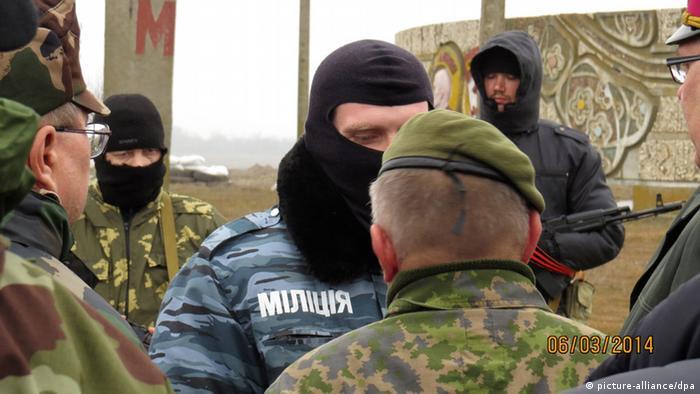 Misión de obsevadores de seguridad de la OSCE.