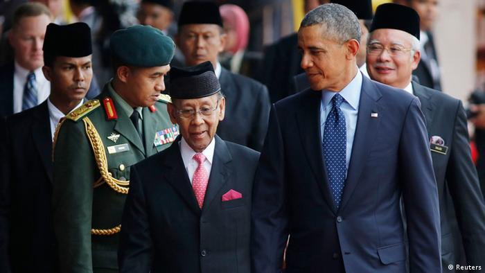 Asienreise USA Präsident Barack Obama in Malaysia