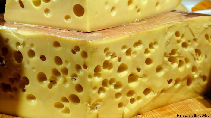Большой кусок сыра