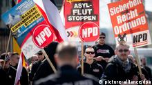 Proteste zu NPD-Demo in Berlin
