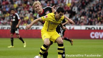 Borussia Dortmund versus Bayer Leverkusen