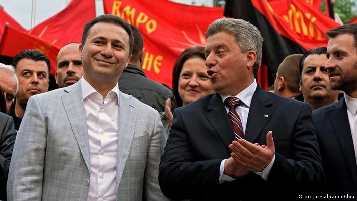 Präsidentschafts- und Parlamentswahlen in Mazedonien (picture-alliance/dpa)