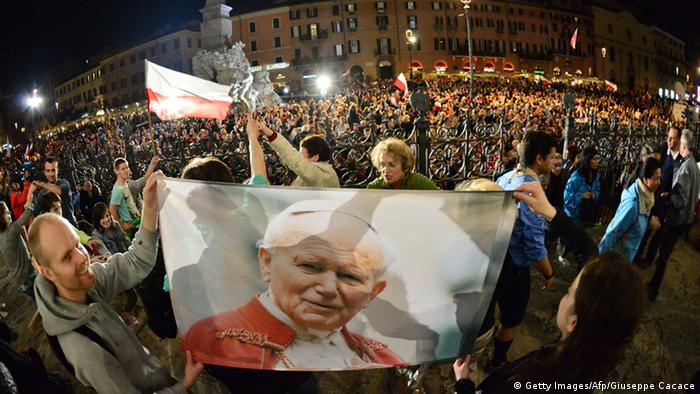 В Риме накануне церемонии канонизации