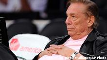 Basketball NBA Clippers Donald Sterling