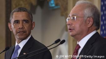 Asienreise USA Präsident Barack Obama in Malaysia Najib Razak