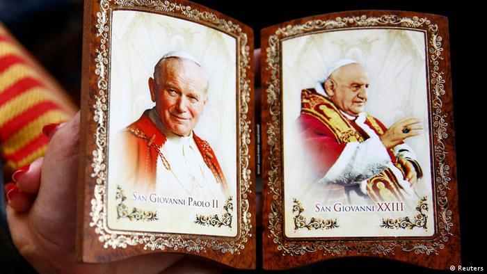 Vatikan Heiligsprechung zweier Päpste