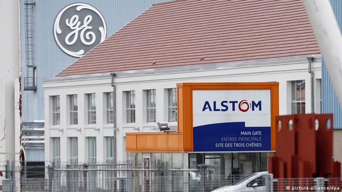 Alstom General Electric in Frankreich