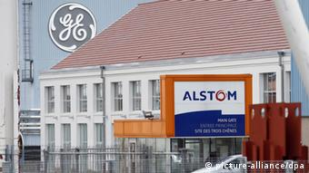 Alstom General Electric in Frankreich (picture-alliance/dpa)