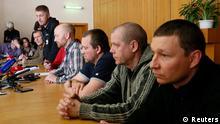 Ukraine Konflikt Pressekonferenz zu Festnahme in Slawjansk