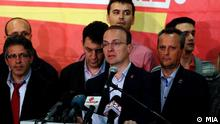 Wahlen in Mazedonien Antoni Milososki