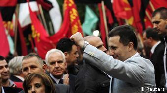 Mazedonien - Gruevski