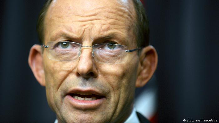 Глава австралійського уряду Тоні Абботт