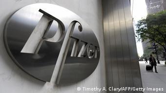 Штаб-квартира фирмы Pfizer в Нью-Йорке
