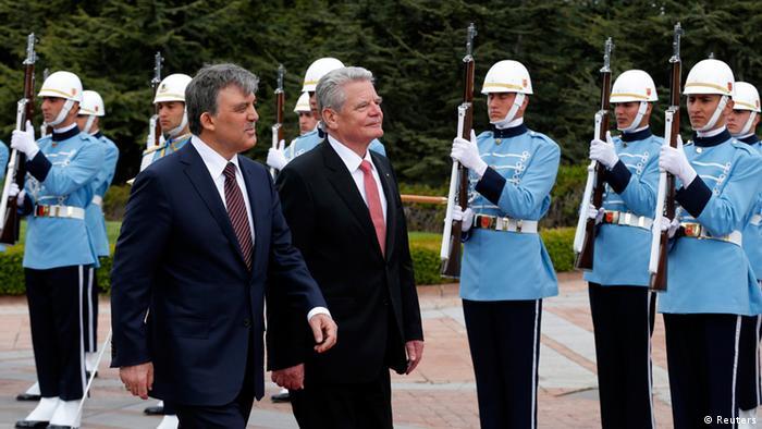 Gauck bei Gül 28.04.2014 Ankara
