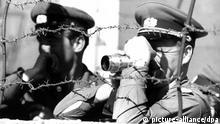 Deutschland Mauer Teilung Volkspolizei