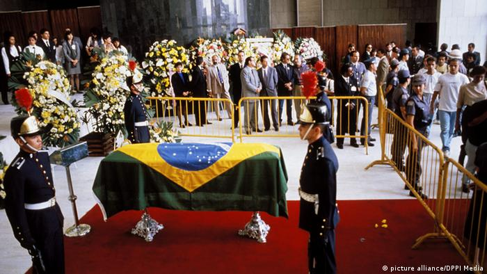 Ayrton Senna Begräbnis