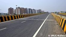 Straße in Lucknow Indien