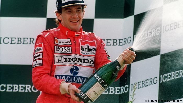 Ayrton Senna em 1991