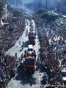 Ayrton Senna Beerdigung 1994