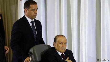 مسؤول جزائري يؤكد قدرة بوتفليقة على حكم البلاد   أخبار   DW.DE   19.12.2014