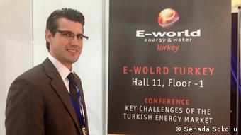 Christian Grun E-World Konferenz (Foto: DW/Senada Sokollu)