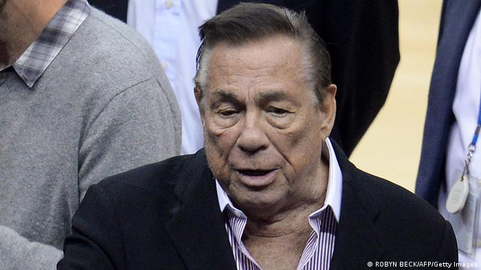 Clippers-Klubbesitzer Donald Sterling. (Photo: credit should read ROBYN BECK/AFP/Getty Images)