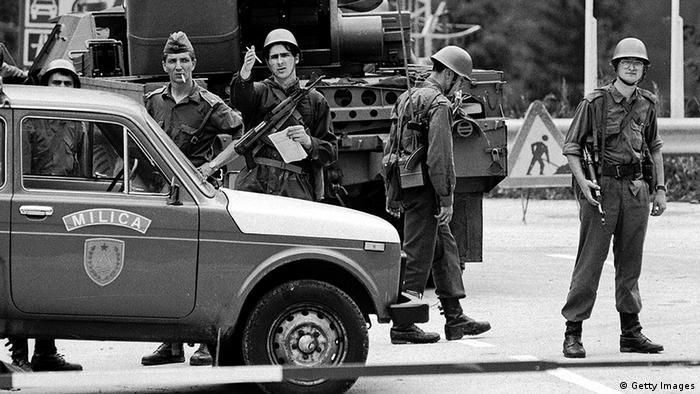 JNA u SLoveniji 1991.