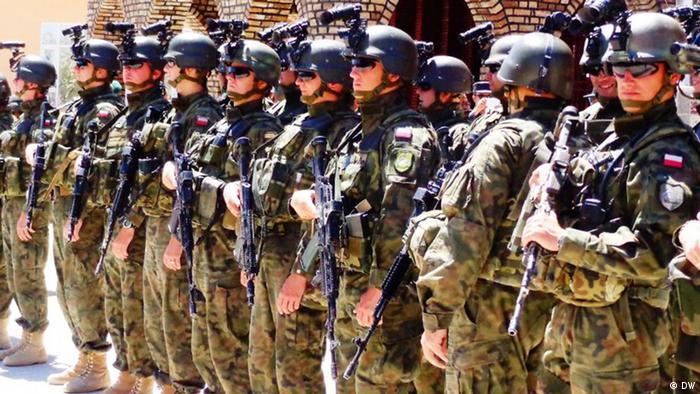 ISAF Soldaten in Afghanistan Foto: Wafa DW