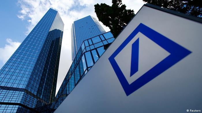 Central de Deutsche Bank en Frankfurt.