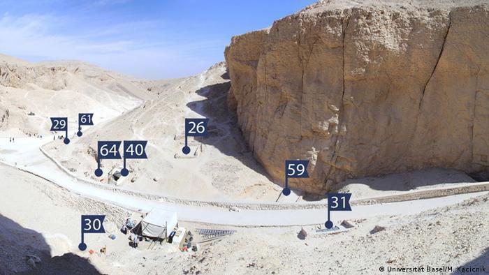 Egiptólogos identificaron la tumba de los hijos de un faraón en el Valle de los Reyes.